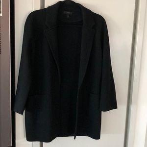 Like new JCrew sweater blazer in black (medium).